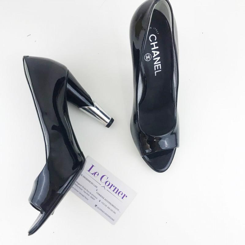 b2570f425370dd Escarpin Chanel - Le Corner dépôt vente de luxe